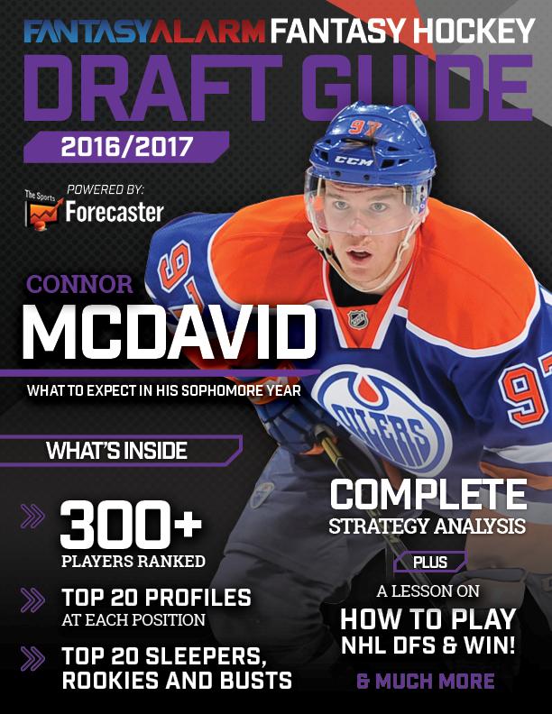 nhl fantasy hockey draft guide