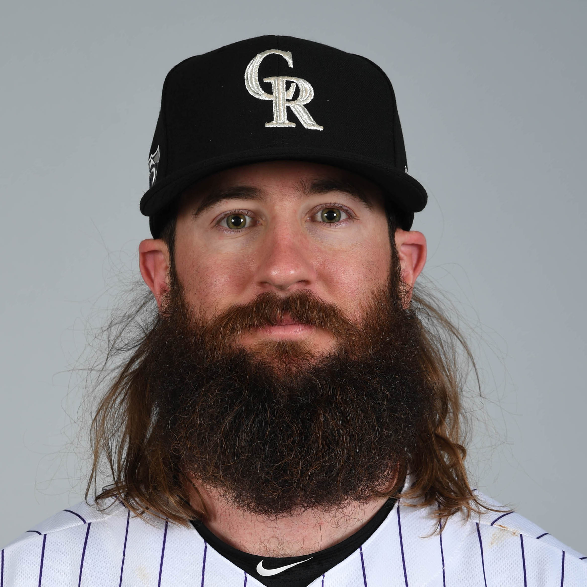 Charlie Blackmon (L) Headshot