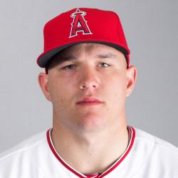 Mike Trout Headshot