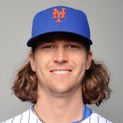 Jacob deGrom Headshot