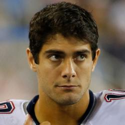 Jimmy Garoppolo Headshot