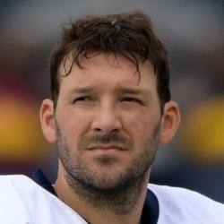 Tony Romo Headshot