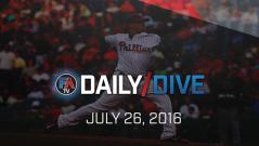 Video: MLB Daily Dive - July 26, 2016 Cover Image