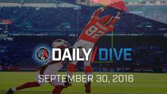 Video: NFL Daily Dive - September 30, 2016 Cover Image