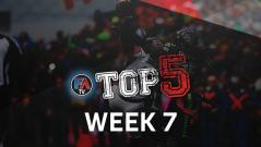 VIDEO: TOP 5 - WEEK 7 PLAYER RANKINGS Cover Image