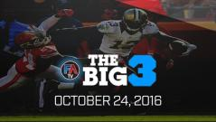 Video: Ray Flowers' Big 3 - October 24, 2016 Cover Image