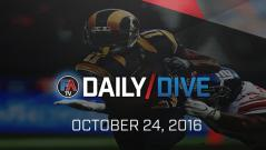 Video: NFL Daily Dive - October 24, 2016 Cover Image