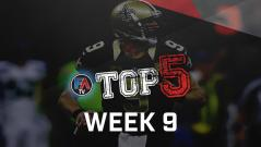 VIDEO: TOP 5 - WEEK 9 PLAYER RANKINGS Cover Image