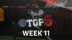 VIDEO: TOP 5 - WEEK 11 PLAYER RANKINGS Cover Image