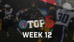 Video: Top 5 - Week 12 Player Rankings Cover Image