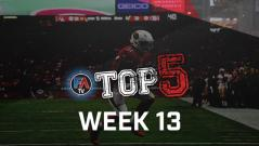 VIDEO: TOP 5 - WEEK 13 PLAYER RANKINGS Cover Image