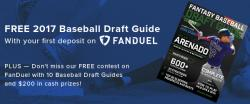 Free contest: Win a Baseball Draft Guide plus cash! Cover Image