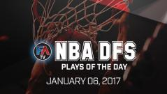 Video: NBA DFS PLAYS OF THE DAY – January 6, 2017 Cover Image