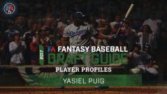 Video: 2017 Player Profiles: Yasiel Puig Cover Image