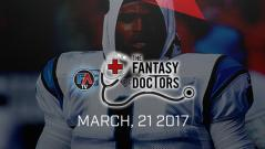 Video: The Fantasy Doctor: Cam Newton Cover Image
