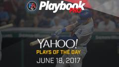 Video: DFS Hitting Plays of the Day -June 18, 2017 Cover Image