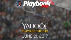 Video:DFS Pitching Plays of the Day -June 21, 2017 Cover Image