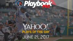 Video: DFS Hitting Plays of the Day -June 21, 2017 Cover Image