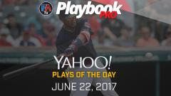 Video: DFS Hitting Plays of the Day -June 22, 2017 Cover Image