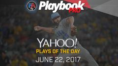 Video:DFS Pitching Plays of the Day -June 22, 2017 Cover Image