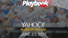 Video:DFS Pitching Plays of the Day -June 23, 2017 Cover Image