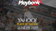 Video:DFS Pitching Plays of the Day - June 28, 2017 Cover Image