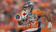 Video: The Fantasy Doctor - Devontae Booker Cover Image