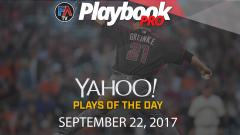 Video: DFS Pitching Plays of the Day: September 22 Cover Image
