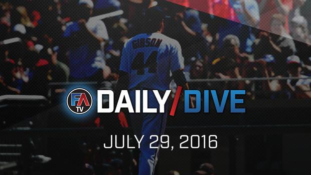 Video: MLB Daily Dive - July 29, 2016 Cover Image