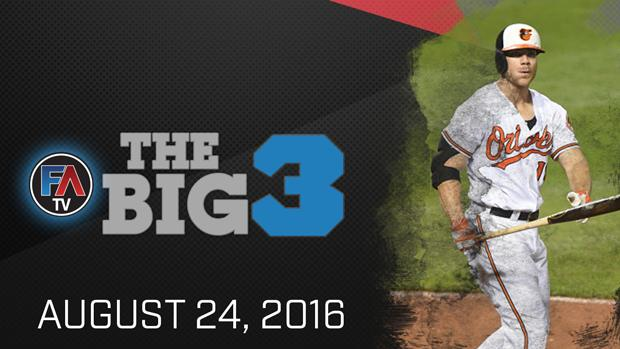 Video: Ray Flowers' Big 3 - August 24, 2016 Cover Image