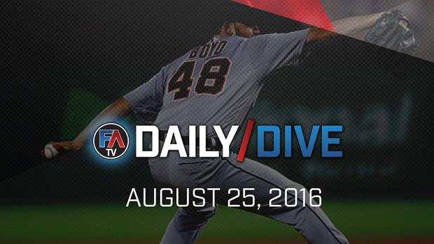 Video: MLB Daily Dive - August 25, 2016 Cover Image
