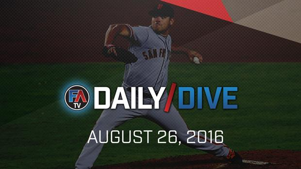 Video: MLB Daily Dive - August 26, 2016 Cover Image