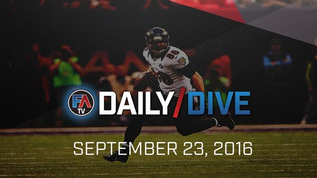 Video: NFL Daily Dive - September 23, 2016 Cover Image