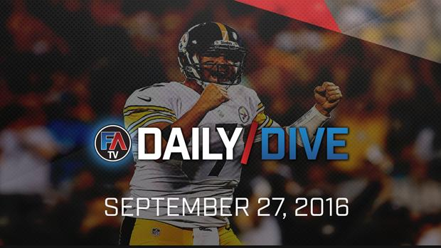 Video: NFL Daily Dive - September 27, 2016 Cover Image