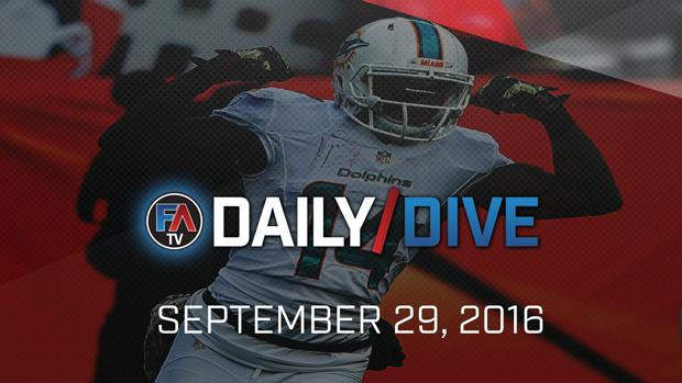 Video: NFL Daily Dive - September 29, 2016 Cover Image
