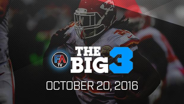 Video: Ray Flowers' Big 3 - October 20, 2016 Cover Image