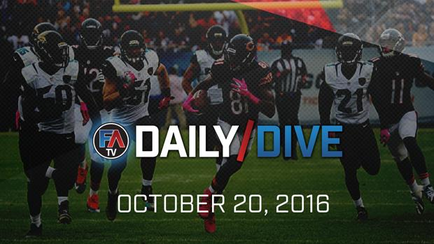 Video: NFL Daily Dive - October 20, 2016 Cover Image