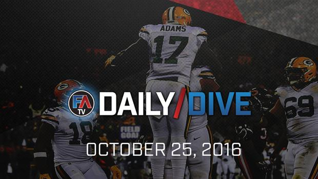 Video: NFL Daily Dive - October 25, 2016 Cover Image
