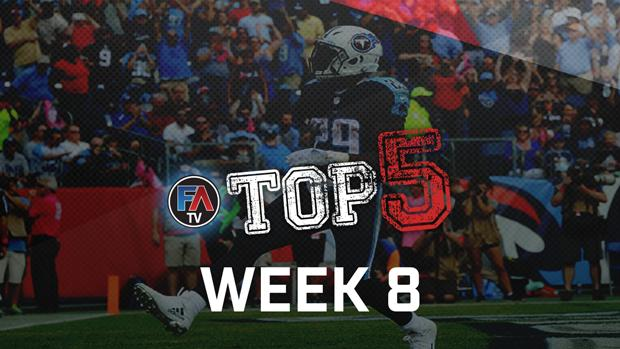 Video: Top 5 - Week 8 Player Rankings Cover Image