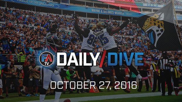 Video: NFL Daily Dive - October 27, 2016  Cover Image