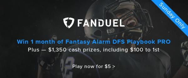 Special FanDuel Contest: Week 13 Exclusive GPP Cover Image