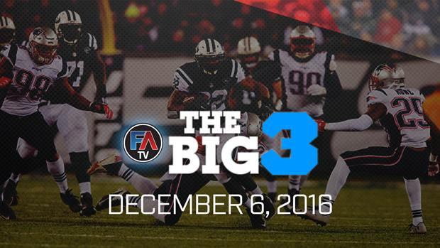Video: Ray Flowers' Big 3 - December 6, 2016 Cover Image