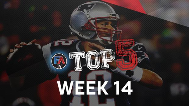 Video: Top 5: Week 14 Player Rankings Cover Image