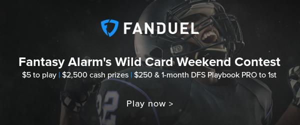 Play in our $2,500 Wild Card Weekend Contest! Cover Image