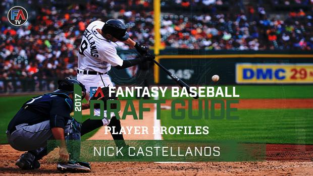 Video: 2017 Fantasy Baseball Player Profile Nick Castellanos Cover Image