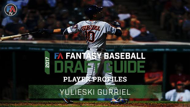 Video: 2017 Fantasy Baseball Player Profile Yulieski Gurriel Cover Image