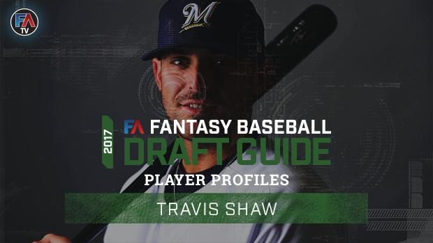Video: 2017 Fantasy Baseball Player Profile: Travis Shaw Cover Image
