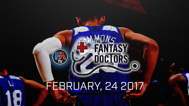 Video: The Fantasy Doctor- Ben Simmons Cover Image