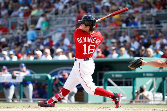 Image result for andrew benintendi 2017