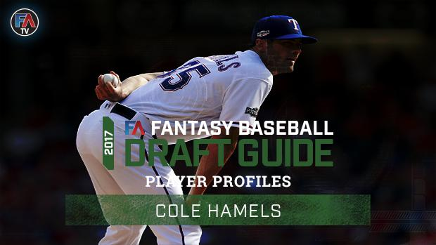 Video: 2017 Fantasy Baseball Player Profile: Cole Hamels Cover Image